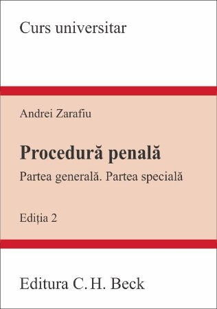 Imagine Procedura penala - Partea generala. Partea speciala. Editia a 2-a
