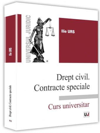 Imagine Drept civil. Contracte speciale. Curs universitar