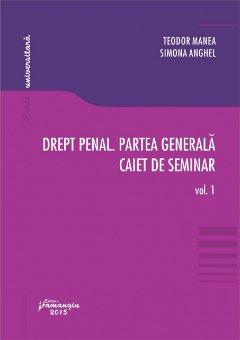 Imagine Drept penal. Partea generala. Caiet de seminar. Vol. 1 Teste grila. Spete