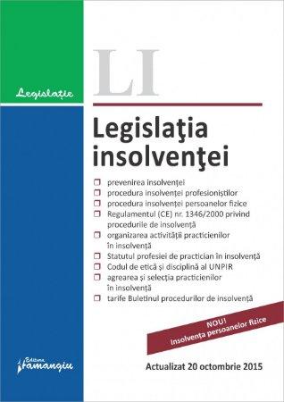 Imagine Legislatia insolventei 20.10.2015