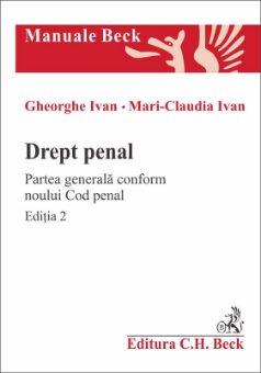 Imagine Drept penal. Partea generala conform Noului Cod penal. Editia a 2-a