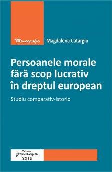 Imagine Persoanele morale fara scop lucrativ in dreptul european