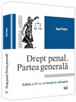 Imagine Drept penal. Partea generala. Editia a 4-a