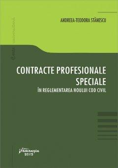 Imagine Contracte profesionale speciale in reglementarea noului Cod civil