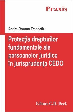 Imagine Protectia drepturilor fundamentale ale persoanelor juridice in jurisprudenta Curtii Europene a Drepturilor Omului