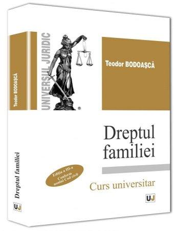 Imagine Dreptul familiei. Conform noului Cod Civil. Editia a 3-a