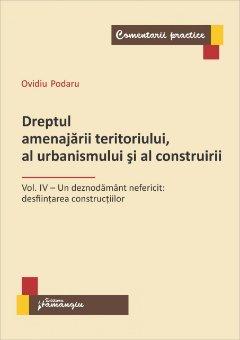 Imagine Dreptul amenajarii teritoriului, al urbanismului si al construirii
