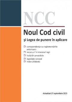 Imagine Noul Cod civil si Legea de punere in aplicare 17.09.2015