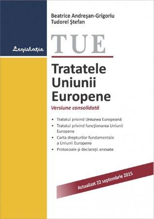 Imagine Tratatele Uniunii Europene. Actualizat 22 septembrie 2015