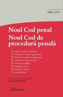 Imagine Noul Cod penal. Noul Cod de procedura penala. Editia a 5-a