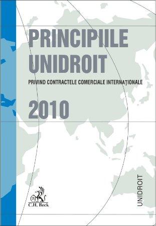 Imagine Principiile UNIDROIT privind contractele comerciale internationale 2010