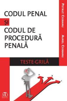 Imagine Codul penal si Codul de procedura penala. Teste grila