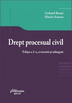 Imagine Drept procesual civil editia II