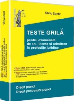 Imagine Teste-grila pentru examenele de an, licenta si admitere in profesiile juridice