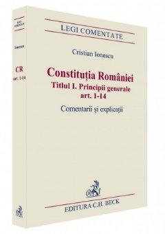 Imagine Constitutia Romaniei. Titlul I. Principii generale