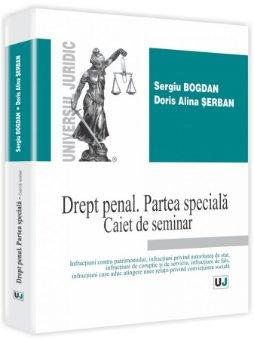 Imagine Drept penal Partea speciala Caiet de seminar