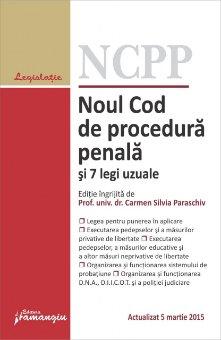 Imagine Noul Cod de procedura penala si 7 legi uzuale ed.4 05.03.2015