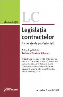 Imagine Legislatia contractelor incheiate de profesionisti 01.03.2015