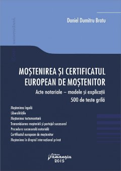 Imagine Mostenirea si certificatul european de mostenitor