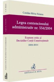 Imagine Legea contenciosului administrativ nr. 554/2004