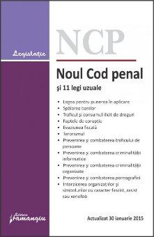 Imagine Noul Cod penal si 11 legi uzuale 30.01.2015