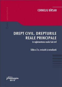 Imagine Drept civil. Drepturile reale principale. Editie revizuita