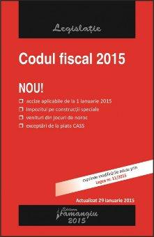 Imagine Codul fiscal 29.01.2015