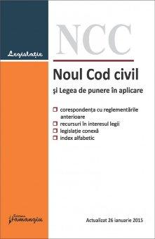 Imagine Noul Cod civil si Legea de punere in aplicare 26.01.2015