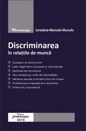 Imagine Discriminarea in relatiile de munca