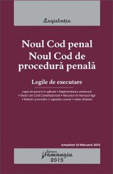 Imagine Noul Cod penal. Noul Cod de procedura penala 15.01.2015