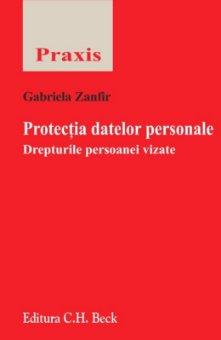 Imagine Protectia datelor personale. Drepturile persoanei vizate