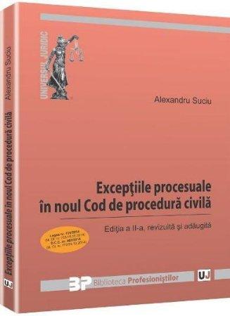 Imagine Exceptiile procesuale in noul Cod de procedura civila. Editia a 2-a