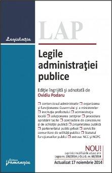 Imagine Legile administratiei publice 17.11.2014