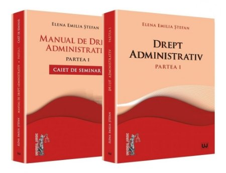 Imagine Manual de drept administrativ. Caiet de seminar. Partea I si Drept administrativ. Partea I. Curs universitar