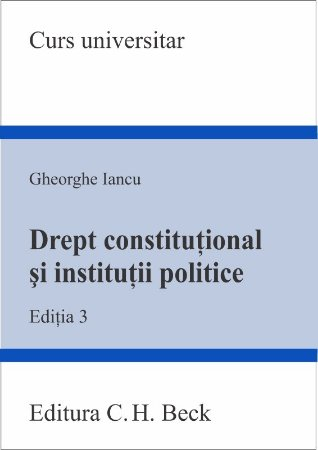Imagine Drept constitutional si institutii politice - editia a 3-a