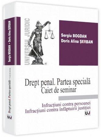 Imagine Drept penal. Partea speciala - Caiet de seminar