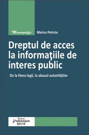 Imagine Dreptul de acces la informatiile de interes public