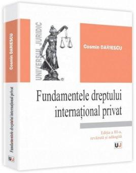 Imagine Fundamentele dreptului international privat