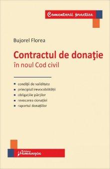 Imagine Contractul de donatie in noul Cod civil