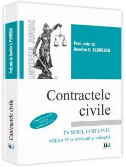 Imagine Contractele civile in noul Cod Civil. Editia a 4-a
