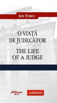 Imagine O viata de judecator. The life of a judge
