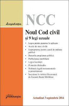 Imagine Noul Cod civil si 9 legi uzuale 3.09.2014