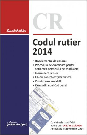 Imagine Codul rutier 2014