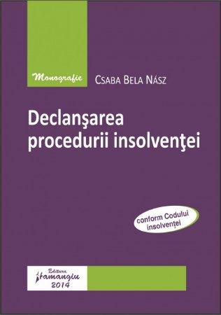Imagine Declansarea procedurii insolventei