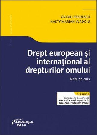 Imagine Drept european si international al drepturilor omului. Note de curs