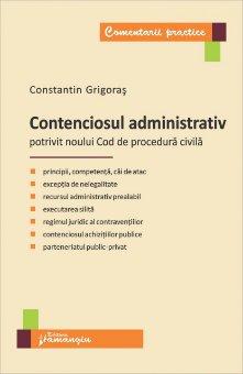 Imagine Contenciosul administrativ - potrivit noului Cod de procedura civila