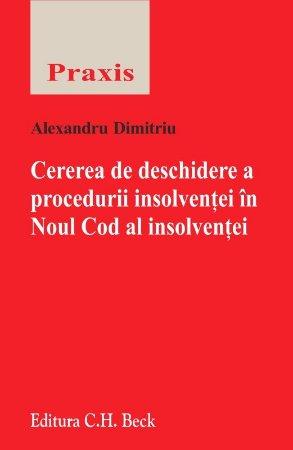 Imagine Cererea de deschidere a procedurii insolventei in Noul Cod al insolventei