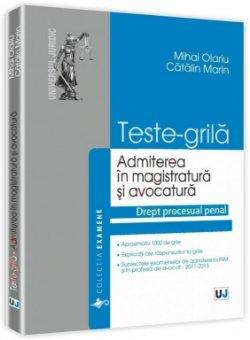 Imagine Teste grila pentru admiterea in magistratura si avocatura
