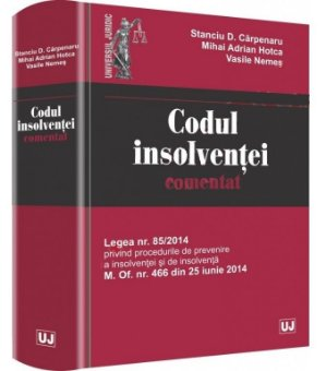 Imagine Codul insolventei comentat