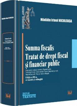 Imagine Summa fiscalis. Tratat de drept fiscal si financiar public - editia a 3-a revizuita si adaugita